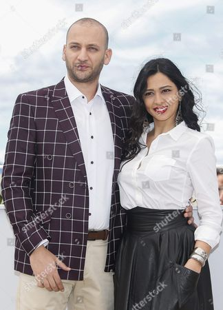 Israeli Actor Doraid Liddawi (l) and Israeli Actress Maisa Abd Elhadi (r) Pose During the Photocall For 'Omor Shakhsiya' (personal Affairs) at the 69th Annual Cannes Film Festival in Cannes France 12 May 2016 the Movie is Presented in the Section Un Certain Regard of the Festival Which Runs From 11 to 22 May France Cannes