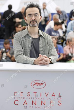 Stock Image of Japanese Actor Kanji Furutachi Poses During the Photocall For 'Fuchi Ni Tatsu' (harmonium) at the 69th Annual Cannes Film Festival in Cannes France 14 May 2016 the Movie is Presented in the Section Un Certain Regard of the Festival Which Runs From 11 to 22 May France Cannes