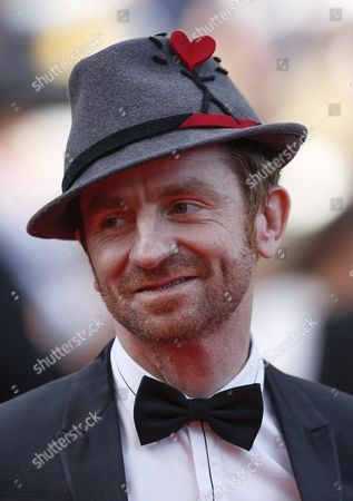 Mathias Malzieu Lead Singer of the French Band Dionysos Arrives For the Screening of 'Loving' During the 69th Annual Cannes Film Festival in Cannes France 16 May 2016 the Movie is Presented in the Official Competition of the Festival Which Runs From 11 to 22 May France Cannes