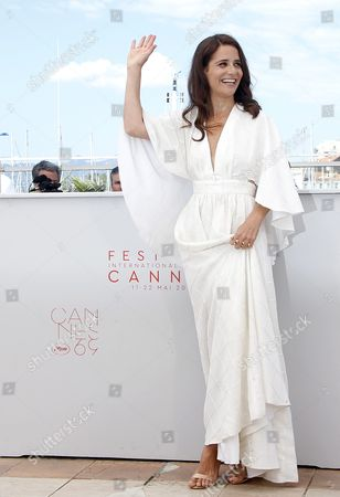 Israeli Actress Shiree Nadav-naor Poses During the Photocall For 'Beyond the Mountains and Hills ' at the 69th Annual Cannes Film Festival in Cannes France 15 May 2016 the Movie is Presented in the Section Un Certain Regard of the Festival Which Runs From 11 to 22 May France Cannes