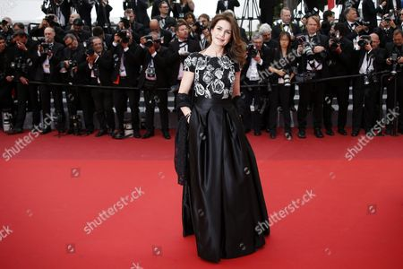French Actress Valerie Kaprisky Arrives For the Screening of 'Ma Loute' (slack Bay) During the 69th Annual Cannes Film Festival in Cannes France 13 May 2016 the Movie is Presented in the Official Competition of the Festival Which Runs From 11 to 22 May France Cannes