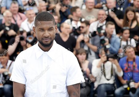 Us Actor and Singer Usher Raymond Iv Poses During the Photocall For 'Hands of Stone' at the 69th Annual Cannes Film Festival in Cannes France 16 May 2016 the Movie is Presented out of Competition at the Festival Which Runs From 11 to 22 May France Cannes