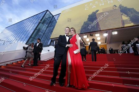 Italian Actor Rocco Siffredi (l) and Partner Rosa (r) Arrive For the Screening of 'Money Monster' During the 69th Annual Cannes Film Festival in Cannes France 12 May 2016 the Movie is Presented out of Competition at the Festival Which Runs From 11 to 22 May France Cannes