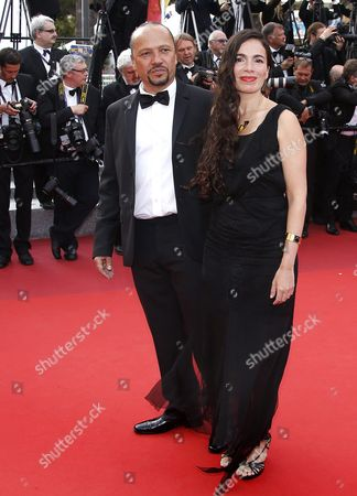 Israeli-french Singer-songwriter Yael Naim (r) and Guest Arrive For the Screening of 'La Fille Inconnue' (the Unknown Girl) During the 69th Annual Cannes Film Festival in Cannes France 18 May 2016 the Movie is Presented in the Official Competition of the Festival Which Runs From 11 to 22 May France Cannes