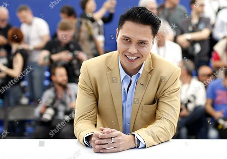 Singaporean Actor Firdaus Rahman Poses During the Photocall For 'Apprentice' at the 69th Annual Cannes Film Festival in Cannes France 16 May 2016 the Movie is Presented in the Section Un Certain Regard of the Festival Which Runs From 11 to 22 May France Cannes