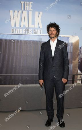 French Actor/cast Member Clement Sibony Arrives For the Premiere of 'The Walk' in Paris France 06 October 2015 the Movie Will Be Released in French Theaters on 28 October France Paris