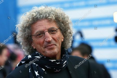 French Film Director Elie Chouraqui Arrives on the Red Carpet Prior to the Projection of Their Film 'Life' During 41st Deauville American Film Festival in Deauville France 05 September 2015 the Festival Runs From 04 to 13 September France Deauville
