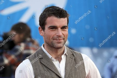 French Actor Stanley Weber Arrives on the Red Carpet Prior to the Screening of 'Ruth and Alex' During the 41st Deauville American Film Festival in Deauville France 09 September 2015 the Festival Runs From 04 to 13 September France Deauville