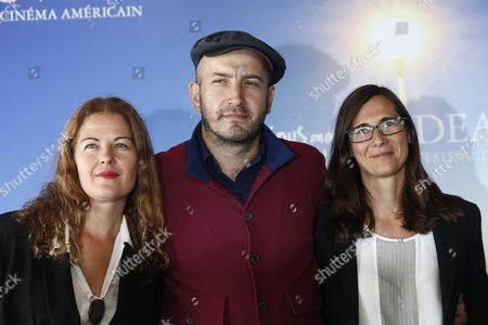 (l-r) French Costume Designer Valerie Ranchoux French-russian Composer Evgueni Galperine and French Film Director Sophie Barthes Pose For the Photographers During the Photocall For Their Movie 'Madame Bovary' During 41st Deauville American Film Festival in Deauville France 10 September 2015 the Festival Runs From 04 to 13 September France Deauville