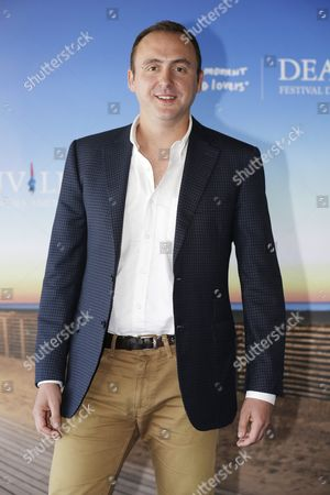 Us Film Producer Nicolas Gonda Poses For the Photographers at a Photocall Prior to a Tribute to Us Director Screenwriter and Producer Terrence Malick During the 41st Deauville American Film Festival in Deauville France 10 September 2015 the Festival Runs From 04 to 13 September France Deauville