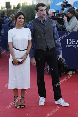 French Actress Geraldine Nakache and French Actor Stanley Weber Arrive on the Red Carpet Prior to the Projection of the Film 'Sleeping with Other People' During 41st Deauville American Film Festival in Deauville France 06 September 2015 the Festival Runs From 04 to 13 September France Deauville