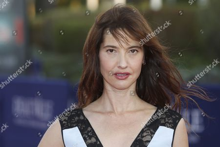 French Actress Alexia Landeau Arrives on the Red Carpet Prior to the Premiere of 'Experimenter' During the 41st Deauville American Film Festival in Deauville France 07 September 2015 the Festival Runs From 04 to 13 September France Deauville