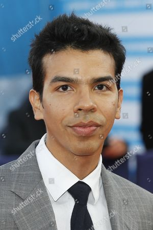 Us Actor Octavio Gomez Berrios Arrives on the Red Carpet Prior to the Premiere of 'Experimenter' During the 41st Deauville American Film Festival in Deauville France 07 September 2015 the Festival Runs From 04 to 13 September France Deauville