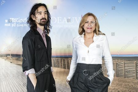 Us Actor/director Jason Jew (l) and Us Producer Laura Rister Pose For the Photographers During the Photocall For 'The Free World' at the 42nd Deauville American Film Festival in Deauville France 04 September 2016 the Festival Runs From 02 to 11 September France Deauville