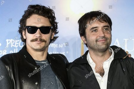 Us Actor James Franco (l) and Film Director Andrew Neel Pose For the Photographers During the Photocall For 'The Goat' During the 42nd Deauville American Film Festival in Deauville France 05 September 2016 the Festival Runs From 02 to 11 September France Deauville