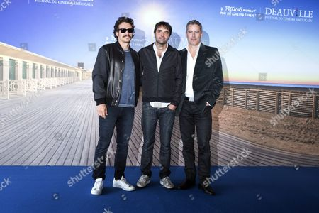Us Actor James Franco (l) and Film Director Andrew Neel (c) and Producer Vince Jolivette (r) Pose For the Photographers During the Photocall For 'The Goat' During the 42nd Deauville American Film Festival in Deauville France 05 September 2016 the Festival Runs From 02 to 11 September France Deauville