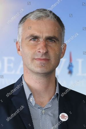 French Filmmaker Pierre Filmon Poses During the Photocall of 'Close Encounters' During the 42nd Deauville American Film Festival in Deauville France 03 September 2016 the Festival Runs From 02 to 11 September France Deauville