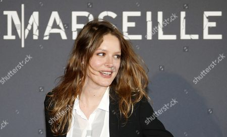 French Actress/cast Member Stephane Caillard Poses at the Premiere of the French Television Series 'Marseille' in Marseille Southern France 04 May 2016 the Series is the First French Original Production For the On-demand Internet Streaming Media Provider Netflix the First Season with Eight Episodes Will Be Released Worldwide on 05 May France Marseille