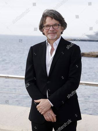 Us Writer and Producer Frank Spotnitz Poses During a Photocall For the Tv Series 'Masters of Florence' at the International Audiovisual and Digital Content Market Miptv 2016 Held at the Festival Palace in Cannes France 04 April 2016 the Miptv Which Runs From 04 to 07 April is One of the World's Leading International Trade Events Dedicated to International Television Programs and to Digital Content and Interactive Entertainment For All Platforms France Cannes