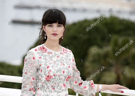 Polish Actress Michalina Olszanska Poses During a Photocall For the Tv Series 'Mathilde' at the International Audiovisual and Digital Content Market Miptv 2016 Held at the Festival Palace in Cannes France 03 April 2016 the Miptv Which Runs From 04 to 07 April is One of the World's Leading International Trade Events Dedicated to International Television Programs and to Digital Content and Interactive Entertainment For All Platforms France Cannes