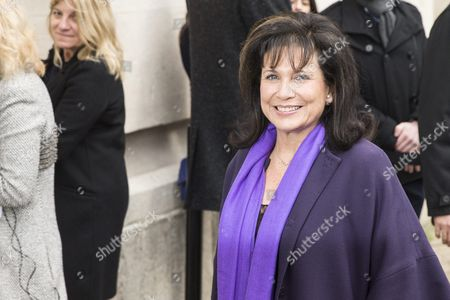 French Journalist Anne Sinclair Arrives For the Presentation of the Spring/summer 2016 Haute Couture Collection by German Fashion Designer Karl Lagerfeld For Chanel During the Paris Fashion Week in Paris France 26 January 2016 the Presentation of the Haute Couture Collections Runs From 24 to 28 January France Paris