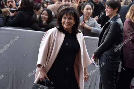French Journalist Anne Sinclair Arrives For the Presentation of the Fall/winter 2016/17 Ready to Wear Collection of Dior Fashion House During the Paris Fashion Week in Paris France 04 March 2016 This Dior Show is the First Ready-to-wear Show Since Former Creative Director Raf Simons Quit in October 2015 the Presentation of the Women's Collections Runs From 01 March to 09 March France Paris