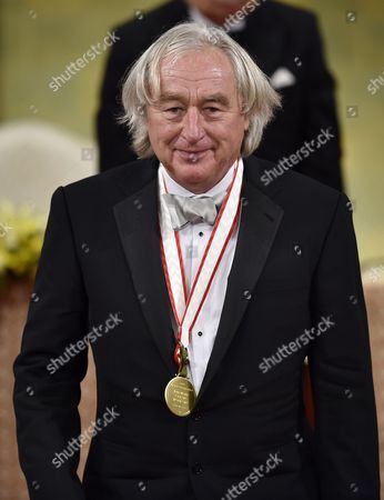Us Architect Steven Holl Acknowledges the Audience After Receiving a Medal During the Awards Ceremony of the 26th Praemium Imperiale in Tokyo Japan 15 October 2014 the Praemium Imperiale is a Global Arts Prize Awarded Annually by the Japan Art Association Five Laureates Are Nominated in the Fields of Painting Sculpture Architecture Music and Theatre/film For Its 26th Edition the Praemium Imperiale Awards Have Been Given to French Painter Martial Raysse Italian Sculptor Giuseppe Penone Us Architect Steven Holl South African Playwright Athol Fugard and Estonian-born Composer Arvo Part Japan Tokyo