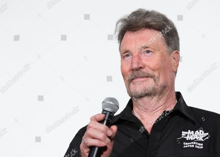 Stock Photo of Australian Actor Vernon Wells From the Original 1979 Mad Max Movie Attends a Stage Greeting For 'Mad Max: Fury Road' in Tokyo Japan 05 June 2015 the Movie Will Be Released in Theaters Across Japan on 20 June Japan Tokyo