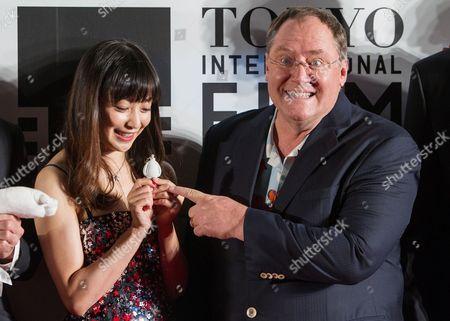 Editorial image of Japan Tokyo Film Festival - Oct 2014
