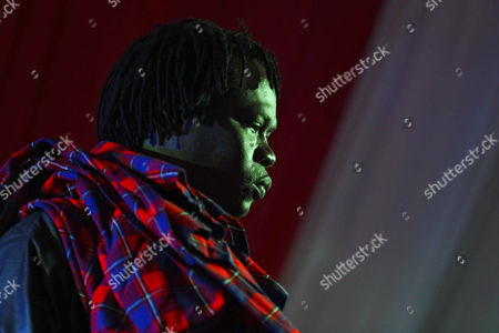 Senegalese Musician Baaba Maal Performs on Stage During the Koroga Festival at the Arboretum in Nairobi Kenya 15 June 2014 the Festival Seeks to Showcase Local Kenyan Talent While Attracting Leading Artists From Around the World Maal is a Renowned Senegalese Singer and Guitarist Born in Podor North of Senegal He is One of the Main Ambassadors of West African Music He is an United Nations Ambassador and Also Known For His Work in Promoting Peace Kenya Nairobi