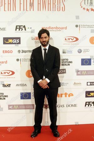 Film Editor and Director Carlos Marques-marcet Arrives on the Red Carpet For the 27th European Film Awards at the Latvian National Opera in Riga Latvia 13 December 2014 Latvia Riga