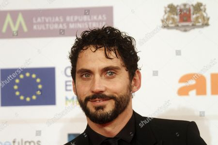 Stock Image of Alessandro Rak Arrives For the 27th European Film Awards at the Latvian National Opera in Riga Latvia 13 December 2014 Latvia Riga