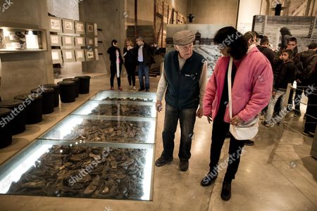 Editorial photo of Mideast Israel Museum - Jan 2014
