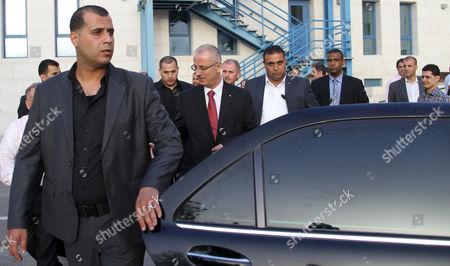 Editorial image of Mideast Palestinians Government Hamdallah - Jun 2013