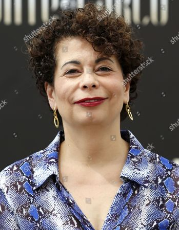 German Producer Rola Bauer Poses During a Photocall For the Tv Series 'Crossing Lines' at the 54th Monte Carlo Television Festival in Monaco 10 June 2014 the Festival Runs From 07 to 11 June Monaco Monaco