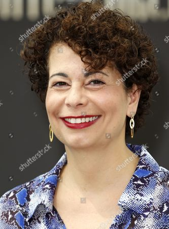 Stock Image of German Producer Rola Bauer Poses During a Photocall For the Tv Series 'Crossing Lines' at the 54th Monte Carlo Television Festival in Monaco 10 June 2014 the Festival Runs From 07 to 11 June Monaco Monaco