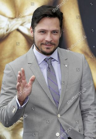 Us Actor Nick Wechsler Poses During a Photocall For the Tv Series 'Revenge' at the 54th Monte Carlo Television Festival in Monaco 10 June 2014 the Festival Runs From 07 to 11 June Monaco Monaco