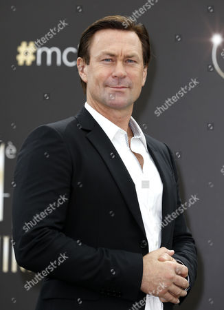 New Zealand-born Actor Grant Bowler Poses During a Photocall For the Tv Series 'Defiance' at the 54th Annual Monte Carlo Television Festival in Monaco 09 June 2014 the Festival Runs From 07 to 11 June Monaco Monaco