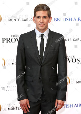 Us Actor Eric Szmanda Poses on the Red Carpet While Arriving For the Opening Ceremony of the Monte Carlo Television Festival in Monaco 07 June 2014 the Event Will Take Place From 07 to 11 June Monaco Monaco