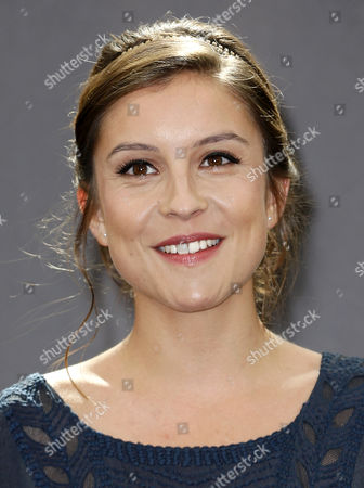 French Actress Flore Bonaventura Poses During a Photocall For the Tv Series 'La Source' at the 54th Monte Carlo Television Festival in Monaco 10 June 2014 the Festival Runs From 07 to 11 June Monaco Monaco