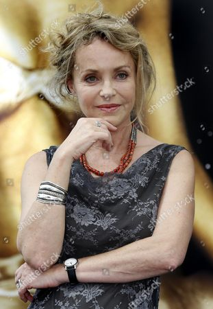 French Actress Fanny Cottencon Poses During a Photocall For the Tv Series 'Interventions' at the 54th Annual Monte Carlo Television Festival in Monaco 08 June 2014 the Festival Runs From 07 to 11 June Monaco Monaco