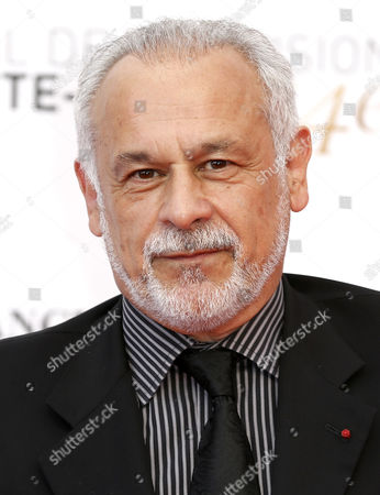 French Actor Francis Perrin Poses on the Red Carpet While Arriving For the Opening Ceremony of the Monte Carlo Television Festival in Monaco 07 June 2014 the Event Will Take Place From 07 to 11 June Monaco Monaco