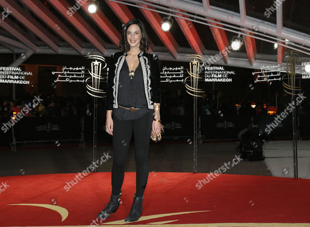 French Actress Julie Fournier Arrives For the Screening of 'The Zero Theorem' During the 13th Annual Marrakech International Film Festival in Marrakech Morocco 02 December 2013 the Movie is Presented out of Competition at the Festival Which That From 29 November to 07 December Morocco Marrakech