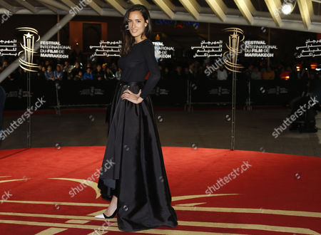 French Actress Sarah Kazemy Arrives at the 13th Annual Marrakech International Film Festival in Marrakech Morocco 06 December 2013 the Festival Runs From 29 November to 07 December Morocco Marrakech