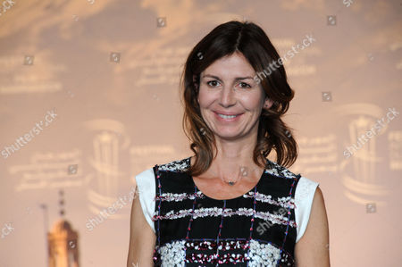 French Director Alix Delaporte Poses During the Photocall For 'The Last Hammer Blow' at the 14th Annual Marrakech International Film Festival in Marrakech Morocco 06 December 2014 the Festival Runs From 05 to 13 December Morocco Marrakech