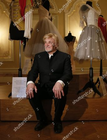 Russian Ballet Dancer Vladimir Vasiliev Poses For Pictures in the Bolshoi Theatre in Moscow Russia 17 April 2015 the People's Artist of the Ussr and the Russian Federation Ballet Dancer Vladimir Vasiliev Celebrates His 75th Birthday on 18 April and Will Be Presenting His Performance 'Dona Nobis Pacen' (grant Us Peace) at the Mass in B Minor by Sebastian Bach Russian Federation Moscow