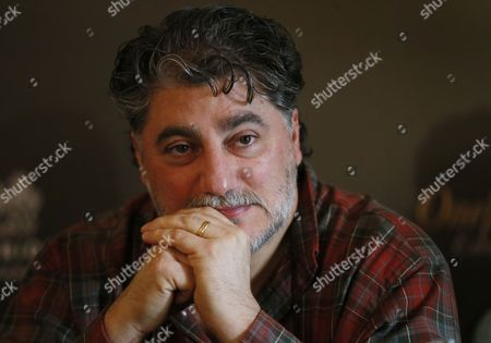 Argentine Opera Singer Jose Cura Looks on During a Press Conference Before the Anniversary Concert 'Opera Ball' Devoted to the 75th Anniversary of of Opera Singer Elena Obraztsova in Moscow Russia 27 October 2014 the Concert Will Be Held on 28 October Russian Federation Moscow