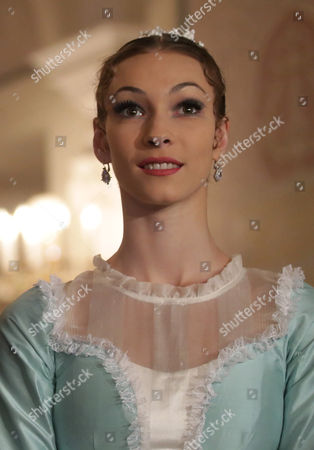 Olga Smirnova Principal Dancer of the Bolshoi Ballet Attends a Press Conference Before the General Rehearsal of Daniel Auber's Ballet 'Marco Spada' at the Bolshoi Theater in Moscow Russia 07 November 2013 the Ballet in Three Parts Will Be Premiered on 08 November Russian Federation Moscow
