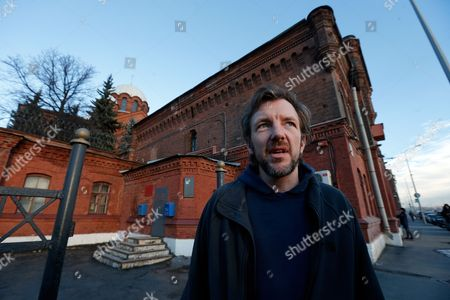 Greenpeace Activist Philip Ball From Britain Leaves the Prison Kresty in St Petersburg Russia 25 November 2013 Ball who Has Been Held in Russia Since the End of September After a Greenpeace Protest at an Oil Rig in the Pechora Sea Has Been Released on Bail According to Greenpeace Russian Federation St. Petersburg