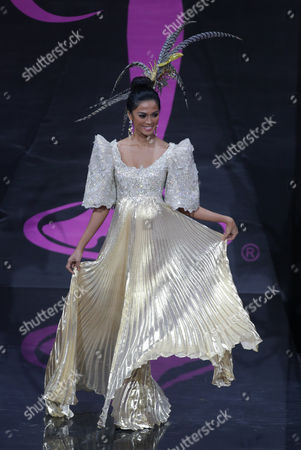 Ariella Arida Miss Philippines 2013 Competes in Her National Costume During the 2013 Miss Universe National Costume Show at the Cultural and Trading Center Vegas in Moscow Russia 03 November 2013 the 2013 Miss Universe Pageant Will Take Place at the Crocus City Hall in Moscow on 09 November Russian Federation Moscow